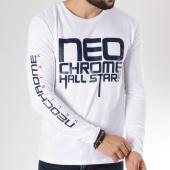 /achat-t-shirts-manches-longues/neochrome-tee-shirt-manches-longues-hall-stars-blanc-146520.html