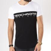 /achat-t-shirts/neochrome-tee-shirt-bicolore-tech-noir-blanc-146528.html