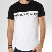/achat-t-shirts/neochrome-tee-shirt-bicolore-tech-blanc-noir-146529.html
