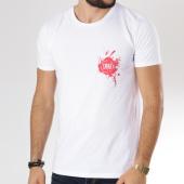 /achat-t-shirts/neochrome-tee-shirt-paint-blanc-rouge-146538.html