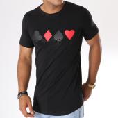 /achat-t-shirts-longs-oversize/berry-denim-tee-shirt-oversize-044-noir-rouge-146698.html
