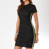 /achat-robes/project-x-robe-manches-courtes-femme-f187001-noir-jaune-146600.html