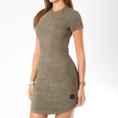 /achat-robes/project-x-robe-suedine-manches-courtes-femme-f187006-vert-kaki-146606.html