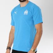/achat-t-shirts/puma-tee-shirt-om-casual-performance-753990-bleu-clair-chine-146575.html