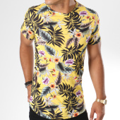 /achat-t-shirts-longs-oversize/uniplay-tee-shirt-oversize-1331-11-jaune-floral-146676.html