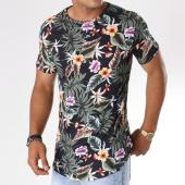 /achat-t-shirts-longs-oversize/uniplay-tee-shirt-oversize-1331-11-noir-floral-146677.html