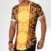 /achat-t-shirts-longs-oversize/uniplay-tee-shirt-oversize-t367-jaune-noir-renaissance-146687.html