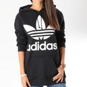 /achat-sweats-capuche/adidas-sweat-capuche-oversize-femme-bf-trefoil-dj2094-noir-blanc-146771.html