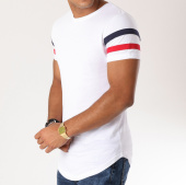 /achat-t-shirts-longs-oversize/lbo-tee-shirt-oversize-avec-bandes-tricolore-471-blanc-146787.html