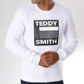 /achat-sweats-col-rond-crewneck/teddy-smith-sweat-crewneck-sacot-blanc-146705.html