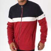 /achat-vestes/teddy-smith-veste-zippee-griko-rouge-blanc-bleu-marine-146709.html