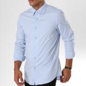/achat-chemises-manches-longues/g-star-chemise-manches-longues-core-d03691-7085-bleu-clair-146810.html