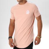 /achat-t-shirts-longs-oversize/sinners-attire-tee-shirt-oversize-avec-bande-stripe-core-628-rose-blanc-146825.html