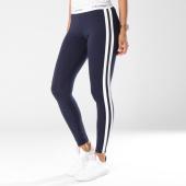 /achat-leggings/calvin-klein-legging-femme-avec-bandes-qs5985e-bleu-marine-blanc-147013.html