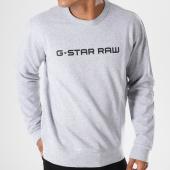 /achat-sweats-col-rond-crewneck/g-star-sweat-crewneck-loaq-d08477-9842-gris-chine-146918.html