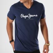 /achat-t-shirts/pepe-jeans-tee-shirt-eggo-v-bleu-marine-146978.html