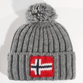 /achat-bonnets/napapijri-bonnet-semiury-1-gris-147328.html