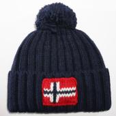 /achat-bonnets/napapijri-bonnet-semiury-1-bleu-marine-147334.html