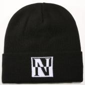/achat-bonnets/napapijri-bonnet-fal-noir-blanc-147336.html