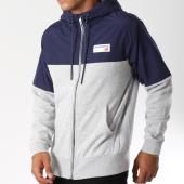 /achat-sweats-zippes-capuche/new-balance-sweat-zippe-capuche-659970-60-bleu-marine-gris-chine-147333.html