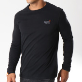 /achat-t-shirts-manches-longues/superdry-tee-shirt-manches-longues-orange-label-vintage-embroidery-noir-147174.html