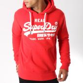 /achat-sweats-capuche/superdry-sweat-capuche-vintage-logo-m20365ir-rouge-blanc-147193.html