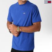 /achat-t-shirts/tommy-hilfiger-jeans-tee-shirt-classics-4574-bleu-roi-147240.html