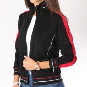 /achat-vestes/guess-veste-zippee-femme-bandes-brodees-o84a13fl01k-noir-rouge-147362.html