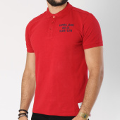 /achat-polos-manches-courtes/kaporal-polo-manches-courtes-boral-rouge-147368.html