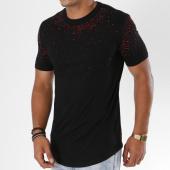 /achat-t-shirts-longs-oversize/berry-denim-tee-shirt-oversize-jb18065-noir-red-147652.html