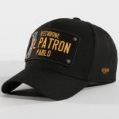 /achat-casquettes-de-baseball/hechbone-casquette-trucker-plaque-el-patron-noir-noir-147594.html