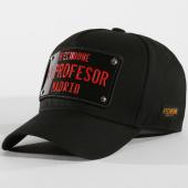 /achat-casquettes-de-baseball/hechbone-casquette-plaque-el-profesor-noir-noir-147598.html
