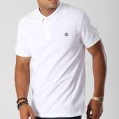 /achat-polos-manches-courtes/timberland-polo-manches-courtes-a1lil-blanc-147684.html