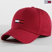 /achat-casquettes-de-baseball/tommy-hilfiger-jeans-casquette-flag-0298-bordeaux-147545.html