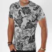 /achat-t-shirts/uniplay-tee-shirt-uy233-gris-chine-noir-floral-147549.html