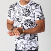 /achat-t-shirts/uniplay-tee-shirt-uy233-blanc-noir-floral-renaissance-147568.html