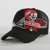 /achat-trucker/von-dutch-casquette-trucker-patchs-brodes-murph-2-noir-147589.html