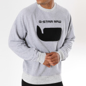 /achat-sweats-col-rond-crewneck/g-star-sweat-crewneck-revir-stor-d09851-a611-gris-chine-147732.html