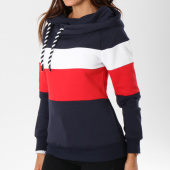 https://www.laboutiqueofficielle.com/achat-sweats-capuche/sweat-capuche-femme-alene-block-bleu-marine-blanc-rouge-147793.html
