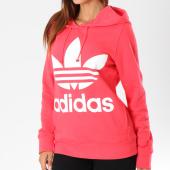 /achat-sweats-capuche/adidas-sweat-capuche-femme-trefoil-dh3136-rouge-147848.html