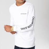 /achat-t-shirts-manches-longues/calvin-klein-tee-shirt-manches-longues-institutional-9597-blanc-147947.html