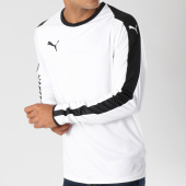 /achat-t-shirts-manches-longues/puma-tee-shirt-manches-longues-de-sport-liga-jersey-703419-blanc-noir-147924.html