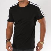 /achat-t-shirts/antony-morato-tee-shirt-avec-bandes-mmks01360-noir-148010.html