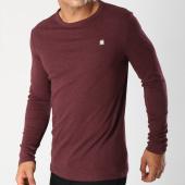 /achat-t-shirts-manches-longues/g-star-tee-shirt-manches-longues-dill-4457-1141-bordeaux-148040.html