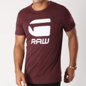 /achat-t-shirts/g-star-tee-shirt-drillon-d08503-1141-bordeaux-chine-148043.html