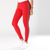 /achat-leggings/guess-legging-avec-bandes-femme-o84a06mc01w-rouge-148000.html