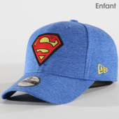 New Era - Casquette Enfant Character Jersey Superman 11653569 Bleu Clair  Chiné d47c0cbfb2