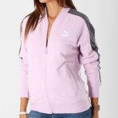 /achat-vestes/puma-veste-zippee-femme-avec-bandes-t7-576661-46-lila-gris-anthracite-147955.html