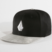 /achat-fitted/volcom-casquette-fitted-stone-xfit-noir-gris-chine-147985.html