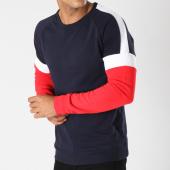 /achat-sweats-col-rond-crewneck/zayne-paris-sweat-crewneck-tx-113-bleu-marine-blanc-rouge-148034.html